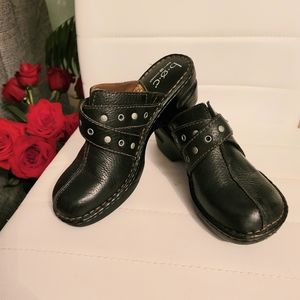 B.o.c Born concept Leather Clogs